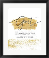 Framed Grit