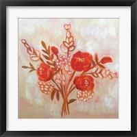 Framed Autumn Bouquet