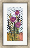 Framed Purple Flowers