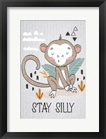 Stay Silly Framed Print