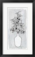Framed Olive Branch Vase
