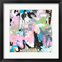 Abstract Polka Dot II Framed Print