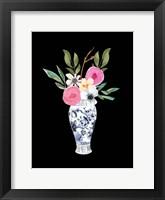 Blue Vase II Framed Print