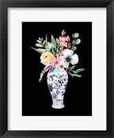 Blue Vase IV Framed Print
