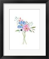 Pastel Floral II Framed Print