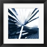 Among Blue Palms I Framed Print