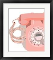 Framed Vintage Phone
