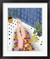 Framed Bubble Bath Dream