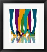 Framed Colorful Legs