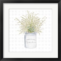 Garden Plants II Framed Print