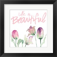 Beautiful Dreams I Framed Print