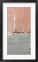 The Blushing Edge Panel II Framed Print