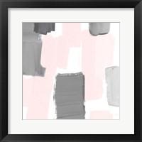 Soft Mergence I Framed Print
