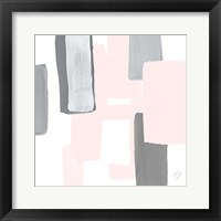 Soft Mergence II Framed Print