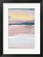 Cotton Candy Sky II Framed Print