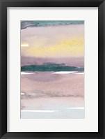 Cotton Candy Sky I Framed Print