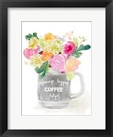 Framed Spring Morning Vase