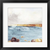 Along The Golden Coast II Framed Print