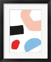 Bright Shape of Things II Framed Print