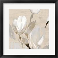 Framed Neutral Tulips I