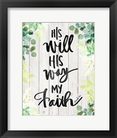 Framed My Faith