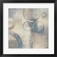 Muted Cobalt I Framed Print