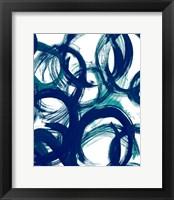 Framed Ocean Strokes