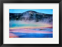 Framed Rainbow Lake