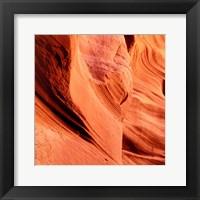 Framed Petrified Sand Mountain I