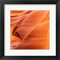 Petrified Sand Mountain II Framed Print