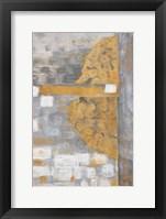 Framed Golden Azteca I