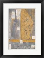 Framed Golden Azteca II