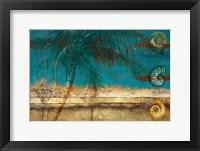 Framed Aqua Seascape