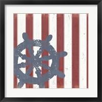 Framed American Coastal II