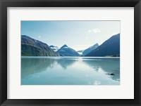Framed Pristine Scenic Alaska