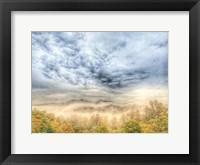 Framed Fog on the Mountain