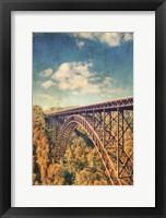 Framed Bridge Over Trees
