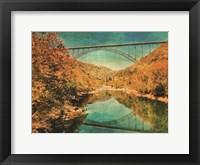 Framed New River Gorge Bridge