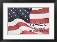 Framed America Is?