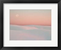 Framed Moon and Dunes