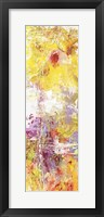 Yellow Abstract I Framed Print