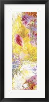 Yellow Abstract II Framed Print
