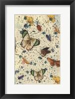 Framed Confetti with Butterflies III