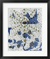 Chakra Web with Wings Framed Print