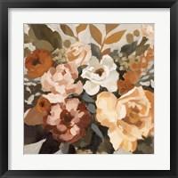 Autumnal Arrangement I Framed Print