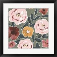 Fair Flowers II Framed Print