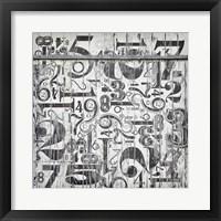 Framed Found Symbols I