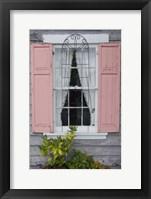 Framed Pastel Windows I