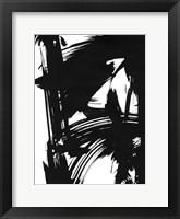 Black Bamboo II Framed Print