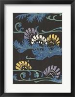 Framed Japanese Graphic Design I
